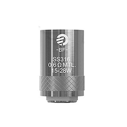 Original Nikotin (Lot of 5 Original Joyetech Cubis Coils SS316 eGo AIO BF Atomizer Head for CUBIS/eGO AIO/Cuboid Mini/AIO Pro E-cig kein Nikotin)