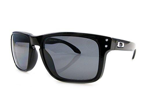 f7f111c249 Lunettes de soleil Oakley Holbrook - Polished Black / Grey Polarized