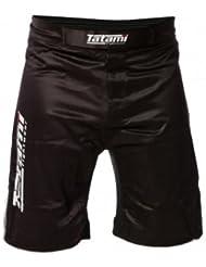 Tatami hombre en NEGRO NO GI De Agarre Shorts de artes marciales - Large