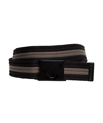 Volcom Strap Web Belt, Man, Black, One Size