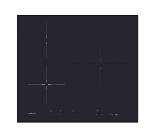 Rosieres RID633DC plaque Noir Intégré Plaque avec zone à induction - Plaques (Noir, Intégré, Plaque avec zone à induction, Verre-céramique, 1500 W, Rond)