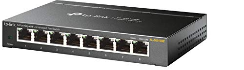 TP-Link TL-SG108E 8-Puerto Gigabit inteligente / Unmanaged