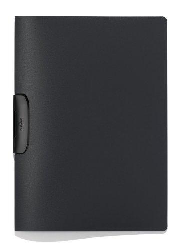 Durable 229557 Klemm-Mappe Duraswing (bis 30 Blatt A4) 5er Packung anthrazit