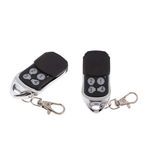 Universal-garage Door Opener (Baoblaze 2 x Universal 433 MHz Wireless Fernbedienung Schlüsselanhänger Fernbedienung Sender Für Somfy)