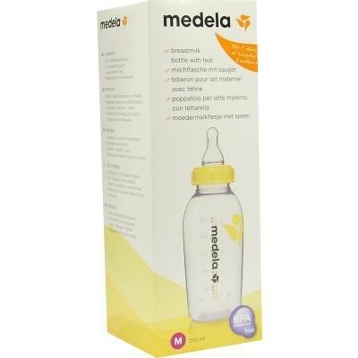 MEDELA Milchflasche 250ml m.Sauger Gr.M , 1, Stück