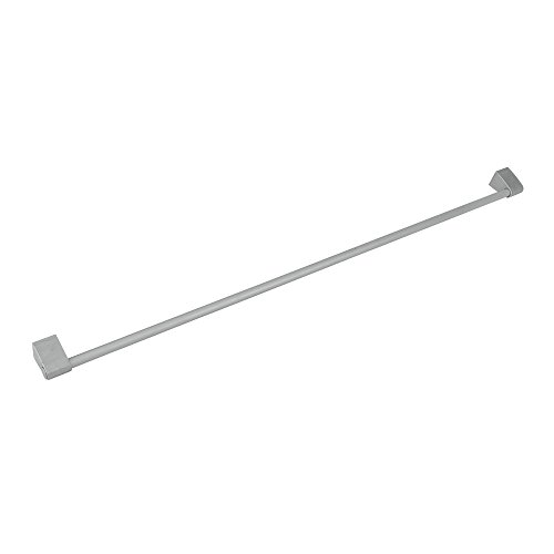 Metaltex Barra para Colgar de Cocina, Metal, Gris, 80x5 cm