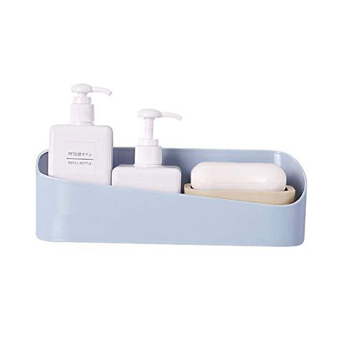 WJQ Aufbewahrungsbox aus Kunststoff für Badezimmer, Organisieren von Handseifen, Körperwäsche, Shampoos, Conditioner, Handtücher, Haarschmuck, Sprayartikelbehälter