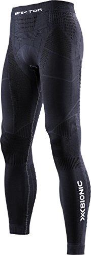 X-Bionic Herren Trail Running Man EFFEKTOR Power OW Pants Long Laufhose, Charcoal/Black, S -