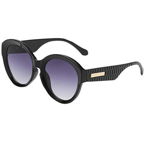 fazry Damen Herren Mode Persönlichkeit Unregelmäßige Form Sonnenbrille Vintage Punk Style Brille(G)