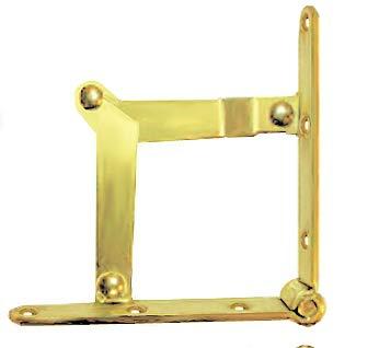 H11-H6060BP Klapptisch mit Stützscharnier - 2 Stück/Pack + gratis Bonus (Skelett-Schlüsselanhänger) (Store Supply Schmuck)