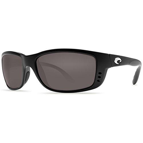 Costa Del Mar Zane Sunglasses, Black, Copper 580P Lens