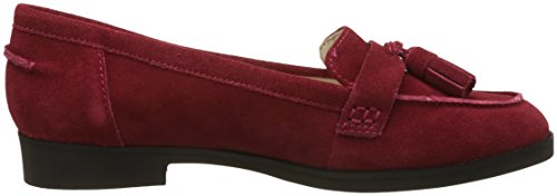 Hush Puppies Amya, Mocassini Donna Rosso (rosso scuro)