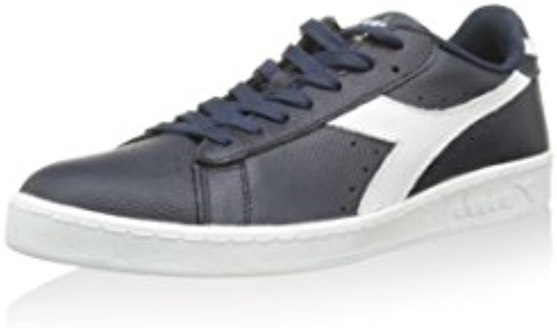 Diadora Unisex Erwachsene Game L Low Waxed Sneaker  Marine  38 EU
