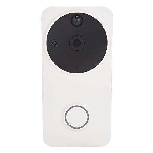 AYNEFY Klingeln Sie Video-Türklingel, Smart Wireless WiFi HD Video-Türklingel-Kamera-Telefon-Nachtsicht-Ausgangs-Splitter(白色) Vision-splitter