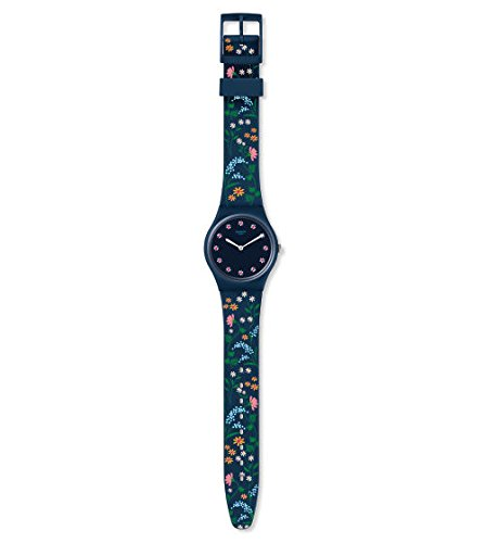 Swatch Damenarmbanduhr Flower Carpet GN256