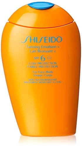 Shiseido Tanning Emulsion SPF6 Low Protection Face/Body 150ml -