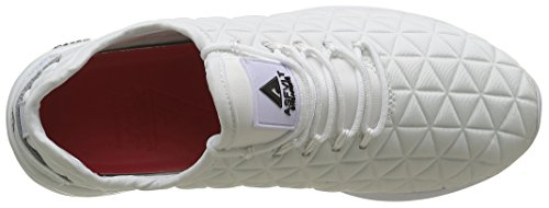 Asfvlt Speed, Baskets Basses Mixte Adulte Blanc (White Triangle Neo)