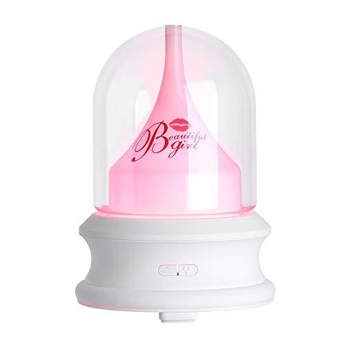 Dtuta Luftverdunster,FläChenverdunster,Luftbefeuchter Exquisite Kristalllampe, Feuchtigkeitsspendend, Nicht Trocken, Sicher, Hygienisch, Aromatherapie-Maschine, Liebhabergeschenk, Heimtextilien