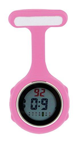 Ellemka JCM-330 Reloj de Enfermera Digital Movimiento de Cuarzo Multi-Funcional  Programable con e70250d703d2