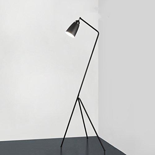 Stehlampe Modern Minimalist Retro Industrial Style Kreative Schmiedeeisen Stehlampe Wohnzimmer Schlafzimmer Studie Vintage Industrielle Bett Scheinwerfer Stehleuchten -