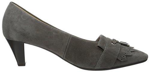 Gabor Basic, Escarpins Femme Gris (Dark-Grey 19)