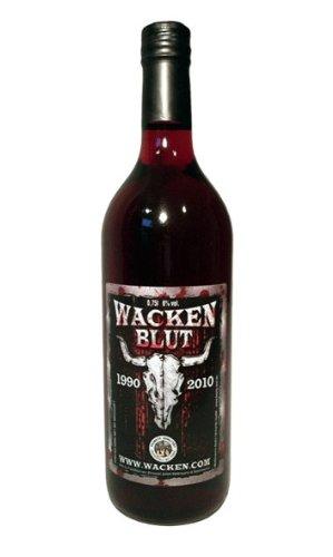 WACKEN BLUT - Met / Honigwein WACKENBLUT Honig-Met mit Kirschsaft, hergestellt als Lizenzprodukt des...