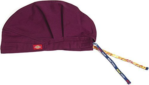 dickies-83566a-adults-antimicrobial-scrub-hat-wine-one-size-by-dickies-medical-scrubs