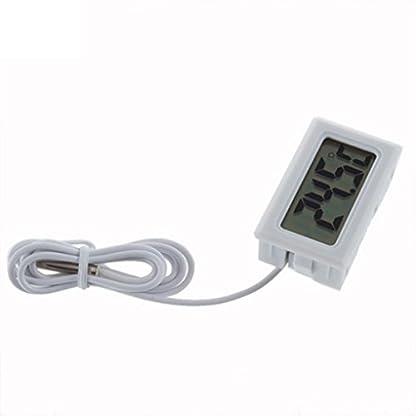 Gemini_mall® New Fish Tank Water Aquarium LCD Digital Thermometer (White) 2