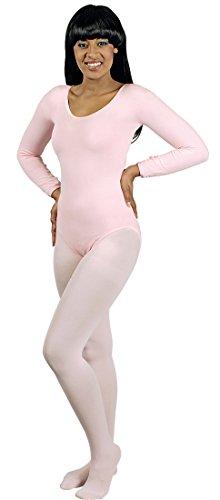 Preisvergleich Produktbild Body rosa für Damen | Größe: 40-44 | 1-teiliges Kostüm für Karneval | Faschingskostüm für Frauen | Körperanzug für Karneval