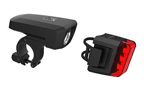 Cube Pro 25 Fahrrad Beleuchtungsset Schwarz