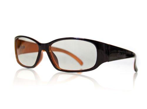 """Universal gafas 3D pasivas gafas 3D """"Xperia"""" para Cinema 3D de LG, Philips Easy 3D, Panasonic, Toshiba, Grundig y RealD cines NUEVO de la marca PRECORN"""