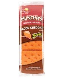 MUNCHIES® Speck Cheddar auf Käse- Biscuit (Speck-käse-kekse)