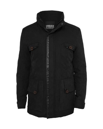 Urban Classics Down Parka, Color:black;Größe:XL