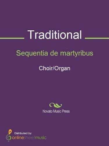 Sequentia de martyribus - Score