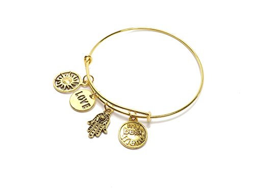 remi-bijou-bangle-bracelet-with-multiple-pendants-sun-love-my-best-friend-gold-colour
