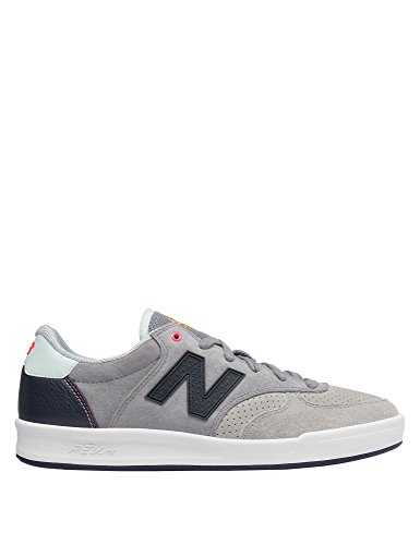 New Balance Men's Men's Leather Tennis Shoes In Grey Grey
