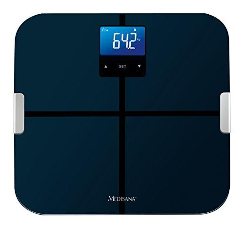 Medisana BS 440 Körperfettwaage 40423 mit App, zur Körperanalyse, bis 180 kg