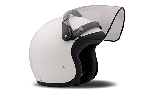 DMD Accessori per Casco Moto, Visiera Flip-Up Clear