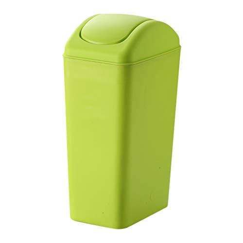 eimer Nach Hause Wohnzimmer Schlafzimmer Badezimmer Mit Abdeckung Kreative Große Küche (Farbe : Grün) ()
