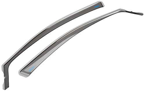 ClimAir CLI0033250 Front Wind Deflectors 2 Pieces Smoked Perspex 4 Door