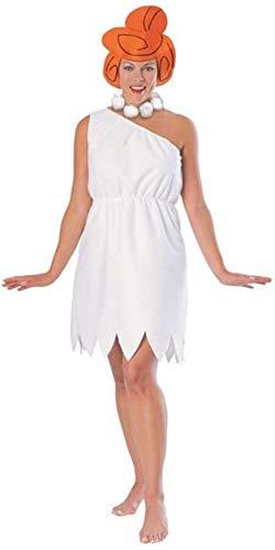 Familie Feuerstein Wilma Kostüm für Damen, Größe:L