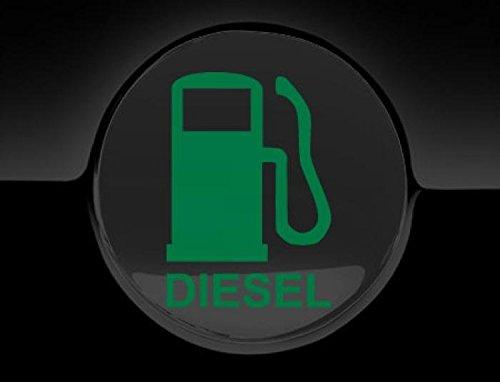 Black JasonCarlMorgan JCM Diesel Fuel Only Fuel Cap Cover Car Sticker