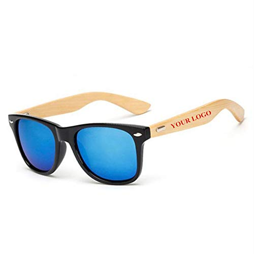 ZHOUYF Sonnenbrille Fahrerbrille Benutzerdefinierte Logo Bambus Fuß Sonnenbrillen Frauen Original Holz Sonnenbrillen Customerized Männer Holz Sonnenbrillen 20 Teile/Satz Großhandel, A