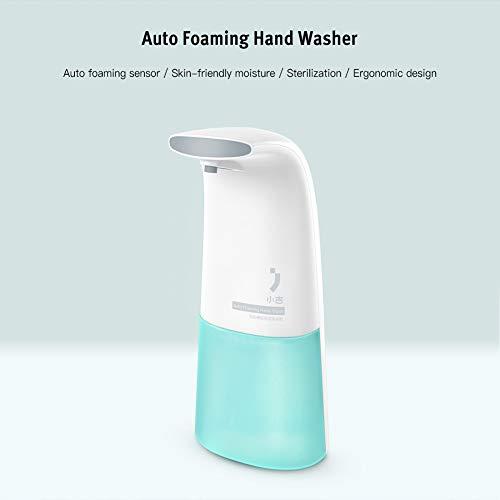 Dispensador de jabón automático de espuma para lavado de manos, manos libres, infrarrojos, inteligente, bomba para casa, cocina, baño, escuela, hospital, hotel para lociones detergentes Sanitizers Gel Champú