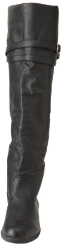 Pleaser, Stivali uomo Nero (Black Leather)