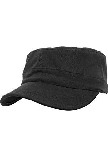 Flexfit Adjustable Top Gun Ripstop Kappe, Black, One Size 3 Flex Fit Cap