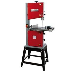 Holzmann 300J – Sierra de cinta para madera, 230 V, incluye base para profesionales y bricolaje