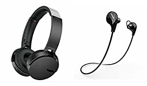 MIRZA Extra Bass XB650 Headphones & Bluetooth Headset for INFOCUS M370(XB 650 Headphones,With MIC,Extra Bass,Headset,Sports Headset,Wired Headset & Jogger Bluetooth Headset,Sports Headset,Gym Headset )