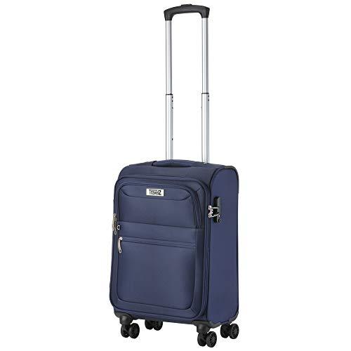 TravelZ TravelZ Softspinner TSA Händgepack - Reisekoffer 55cm Soft - Blau