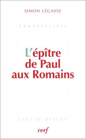 L'Epitre de Paul aux Romains